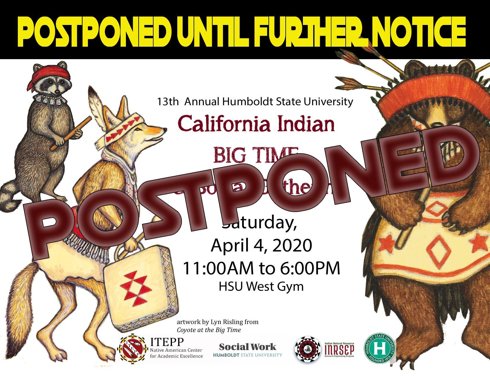 Big Time Postponed